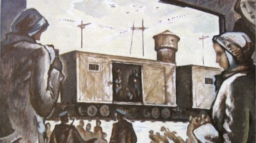 Viktor Hurr Deportation in die Verbannung